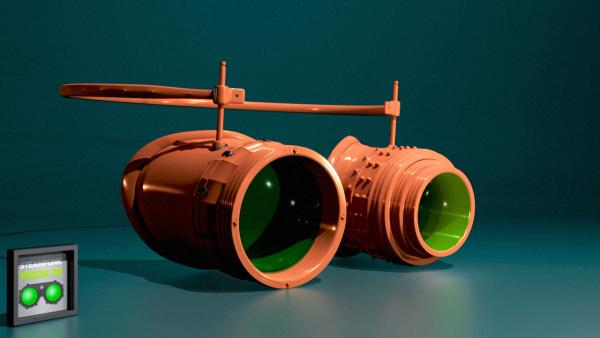 Работа на конкурс Steampunk-Vision 3D в Студию, автор triumf