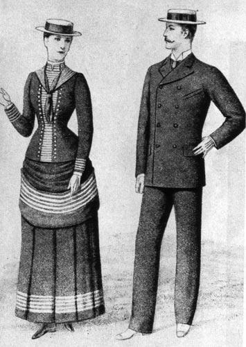 1886 г. Канотье
