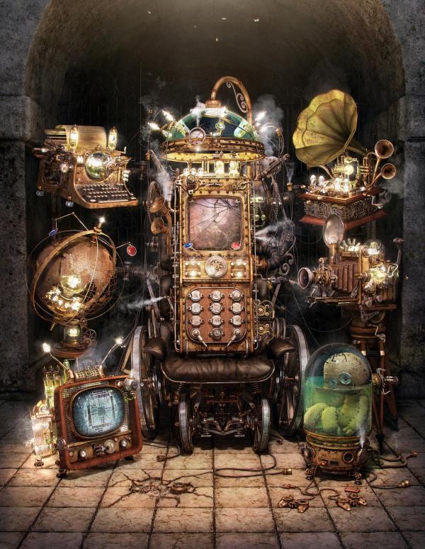 Работа на конкурс Steampunk-Vision 3D в Студию, автор Aleksandr