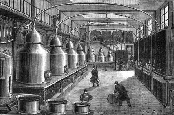 Absinth - the symbol of Victorian Age