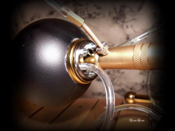 Стимпанк лампа № 1. (Фото 3)