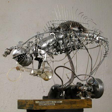 Cкульптура Андрея Северинко (Фото 7)