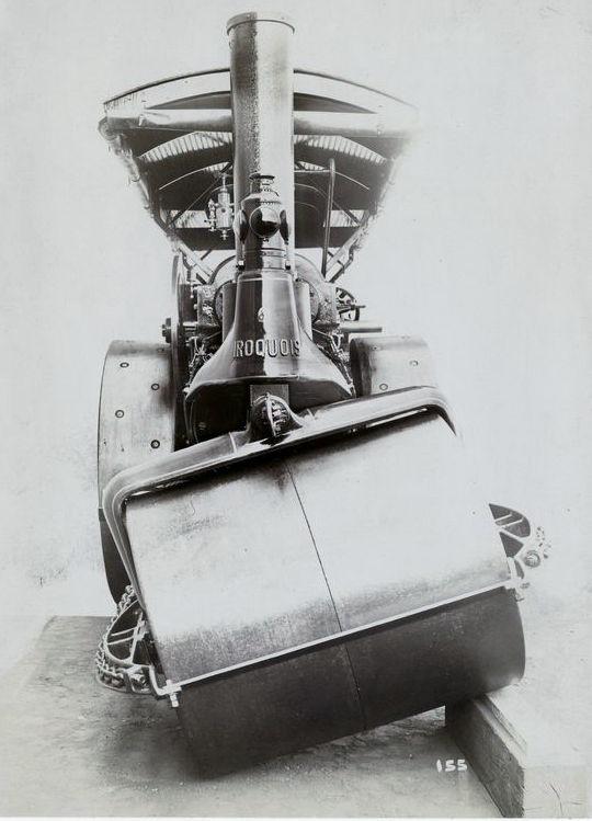 """Паровой дорожный каток """"Ирокез"""" (1920-е гг.) (Фото 2)"""