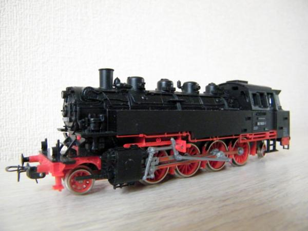 немецкий паровоз BR-86