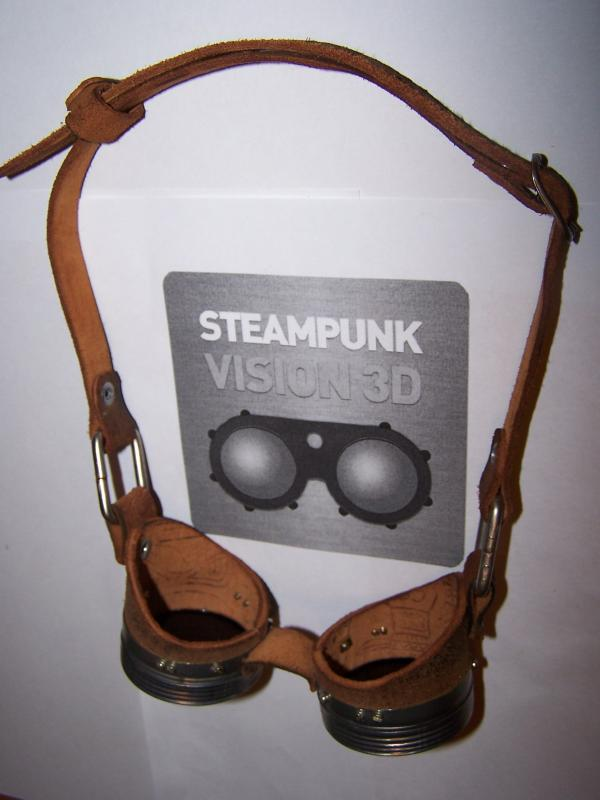 "Гуглы для конкурса ""STEAMPUNK-VISION 3D"" (Фото 2)"