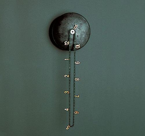 Часы из велосипедной цепи