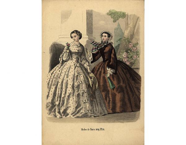 Переменчивая мода Викторианской эпохи (Фото 21)