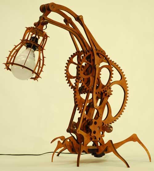 """Настольная лампа """"Araneae""""."""
