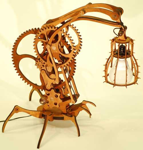 """Настольная лампа """"Araneae"""". (Фото 2)"""