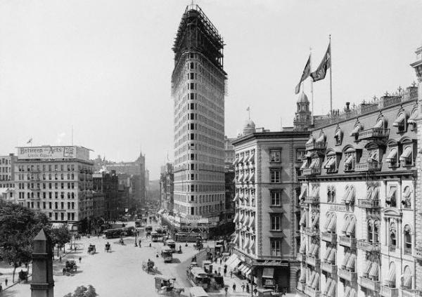 фото Нью-Йорка начала 20го века (Фото 30)
