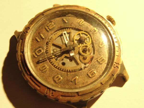 """Часы """"Слава"""", мой первый опыт в моддинге часов. (Фото 3)"""