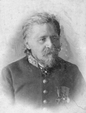 Сафонов Максимилиан Яковлевич, инспектор народных училищ. г. Новониколаевск.