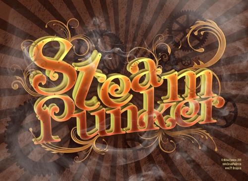 Обои для сайта SteamPunker