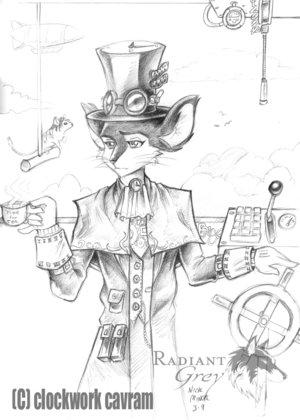 Steampunk furry (Фото 13)