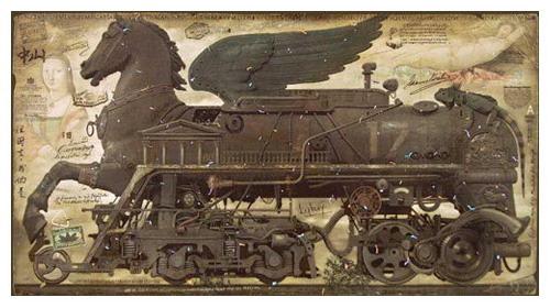 Живопись, лубок, и железнодорожные мутанты... (Фото 5)