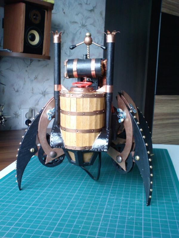 Имперский автономный ударно-разведывательный паровой дрон (Фото 17)