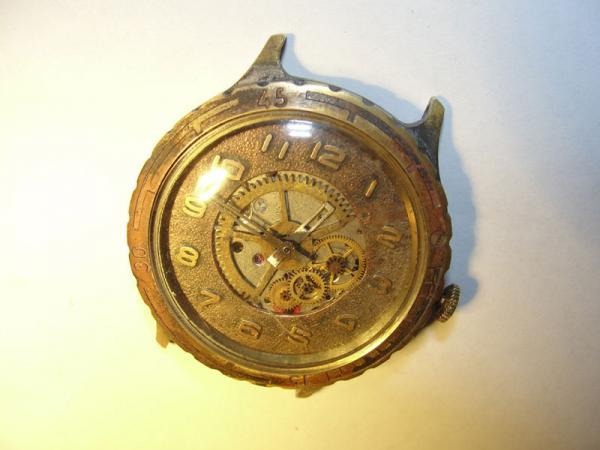 """Часы """"Слава"""", мой первый опыт в моддинге часов."""