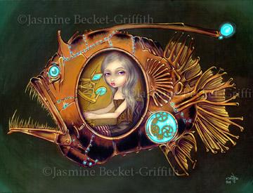 Выразительные глаза в работах Jasmine Becket-Griffith (Фото 6)