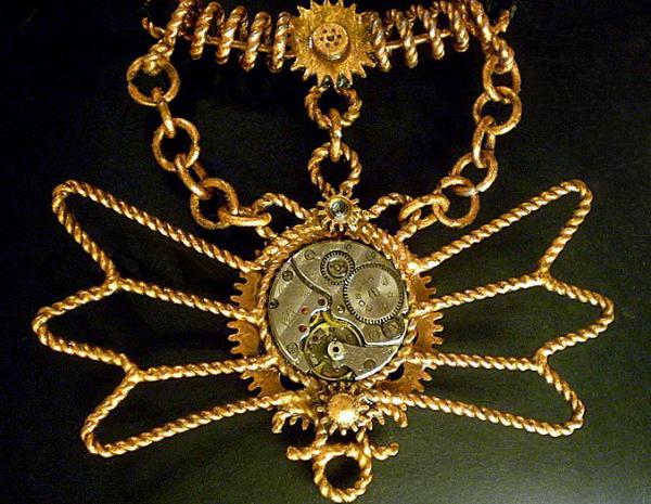 Лампа и медалька