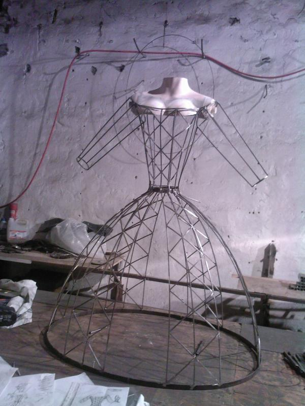 КОЛОМБИНА (арт-механика , история одного проекта) (Фото 6)
