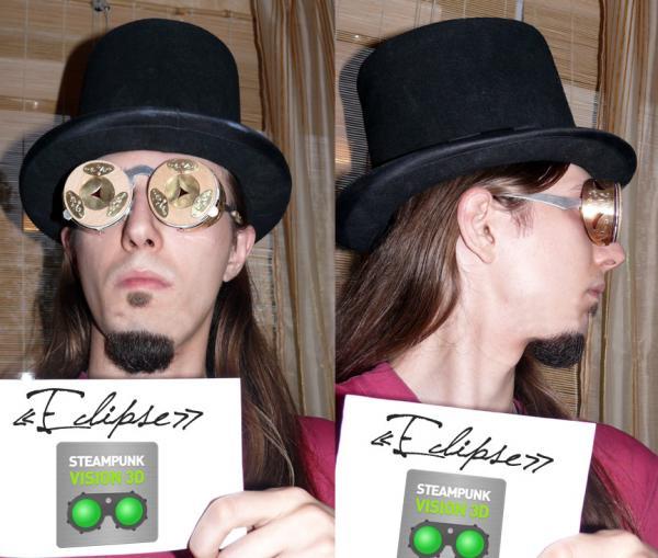"""Eclipse"" - ворклог для конкурса ""Steampunk Vision 3D"" от NVIDIA"