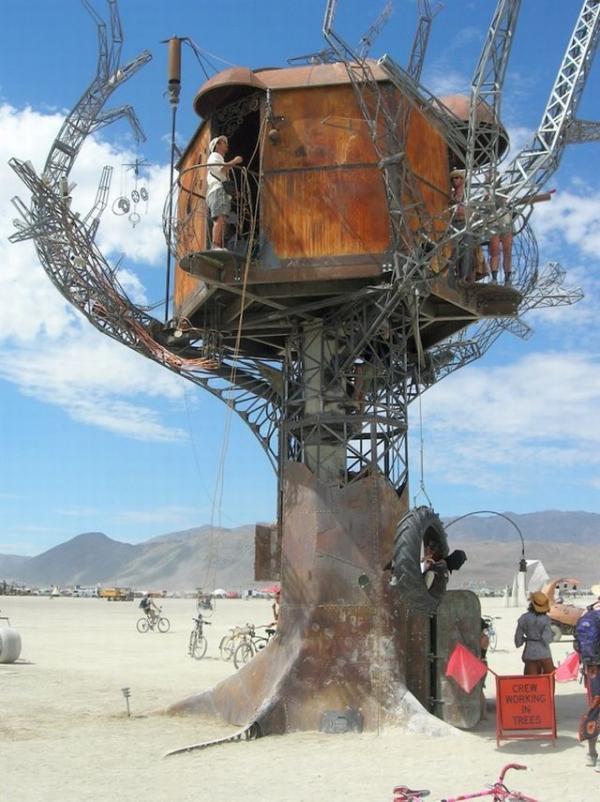 Железное дерево в песках Невады. (Фото 8)