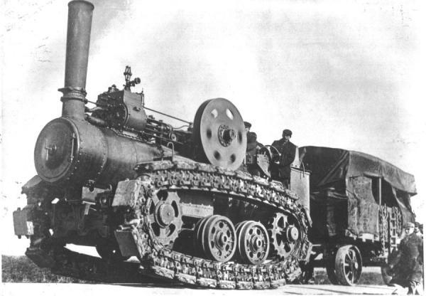Паровой трактор Хорнсби (Фото 2)