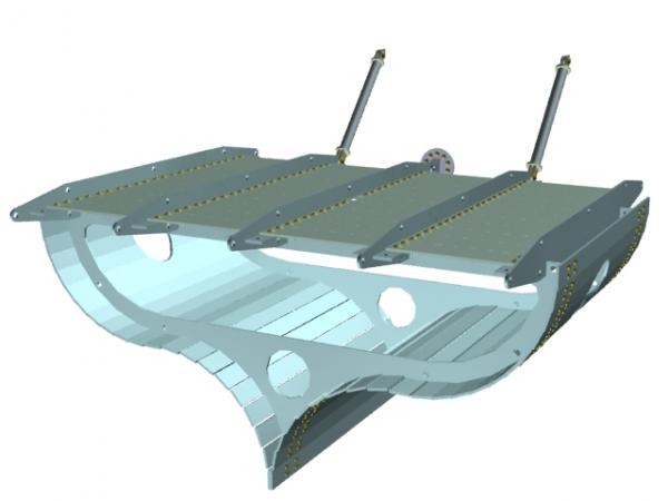 Летучий корабль 2 (3D-модель шаг за шагом) (Фото 25)