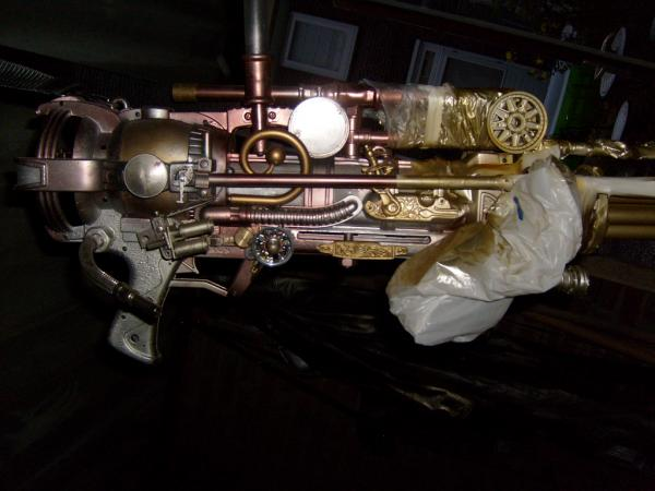Steampunk weapon!
