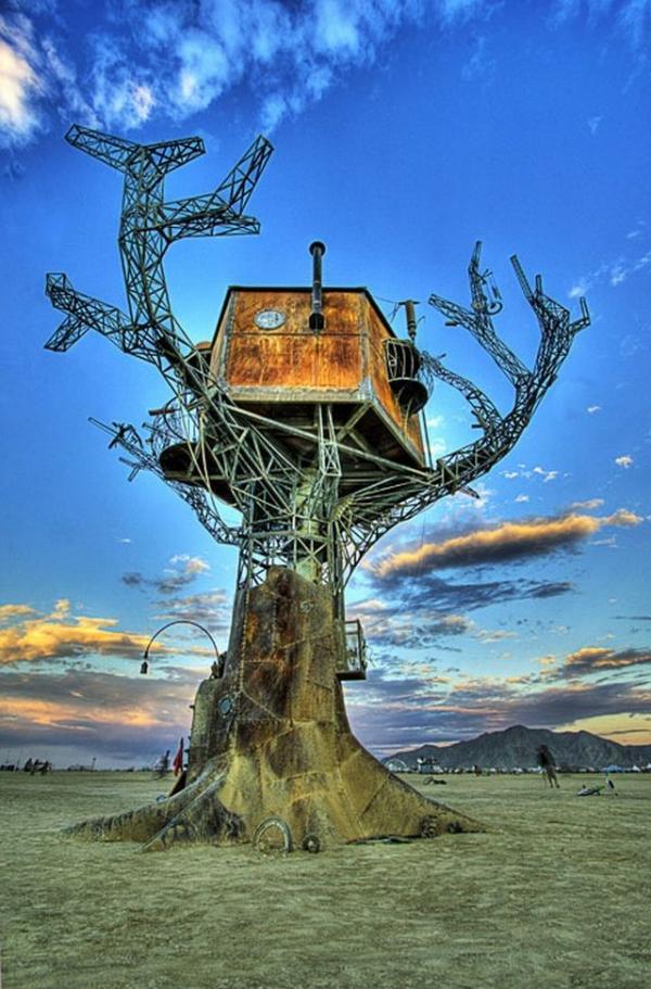 Железное дерево в песках Невады. (Фото 6)