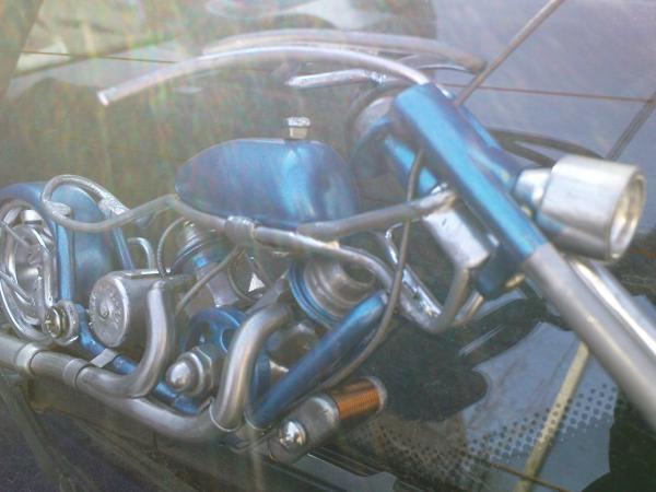мотоцикл для робота (Фото 11)