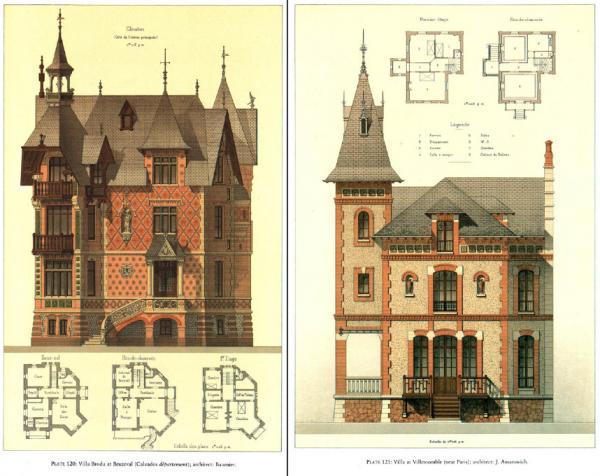 Details of Victorian Architecture. Викторианская архитектура в проектах. (Фото 13)