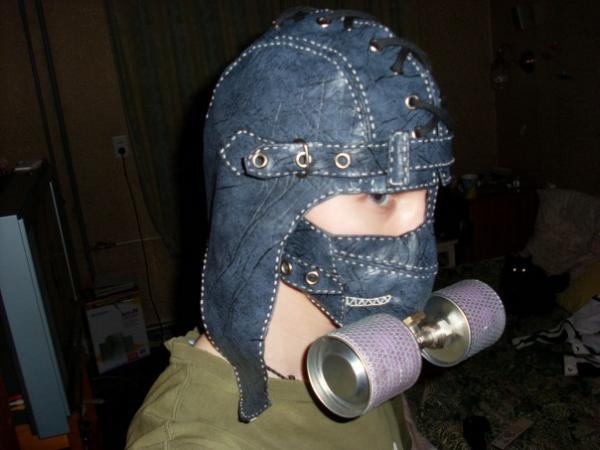 Мои маски и ещё пара творений) (Фото 7)