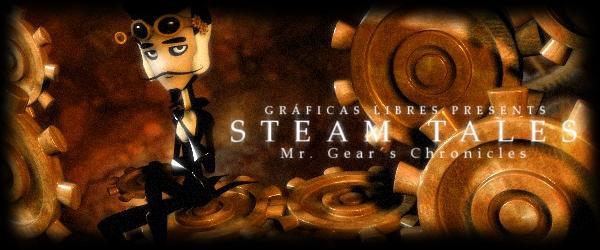 STEAM TALES: Mr Gear's Chronicles