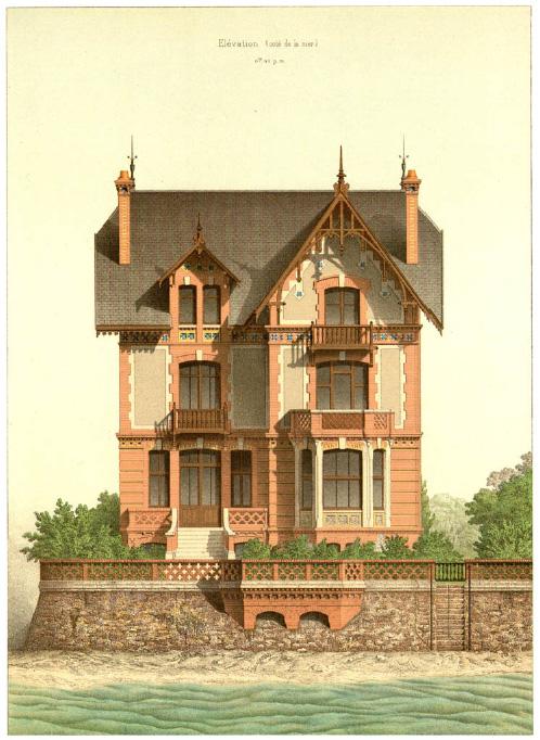 Details of Victorian Architecture. Викторианская архитектура в проектах. (Фото 8)