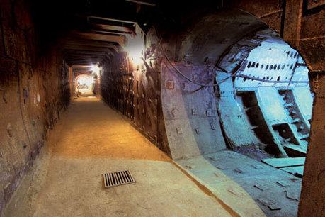 Рассекреченный подземный бункер в Москве