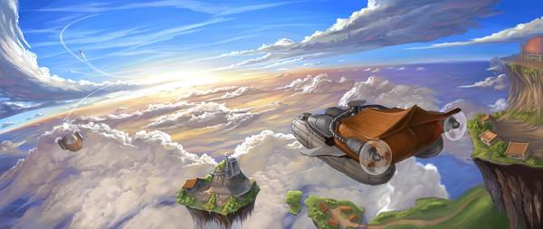 Sky2Fly – онлайн игра в стиле стимпанк