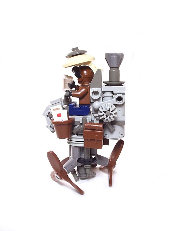 Подборка Lego-конструкций. Часть первая. (Фото 21)