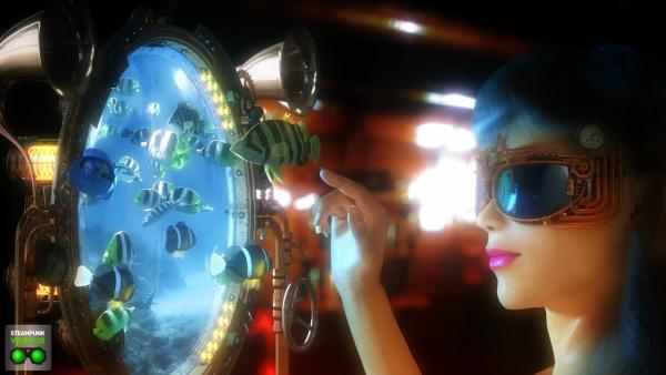 Работа на конкурс Steampunk-Vision 3D в Студию, автор Alex