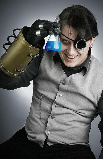 Фотосессия по мотивам стимпанка. (Фото 9)