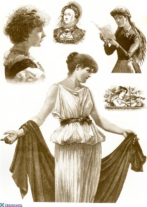 Иллюстрации из викторианских журналов (Фото 19)