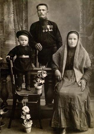 Семья Швец. г.Новониколаевск.