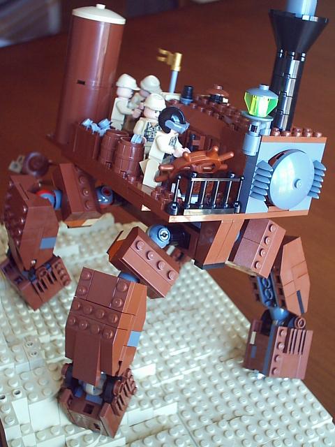 Подборка Lego-конструкций. Часть первая. (Фото 16)