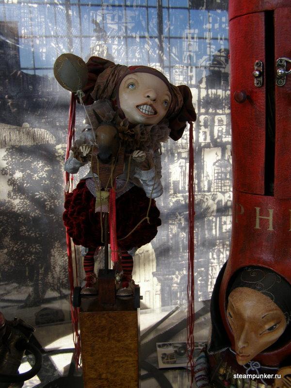 """Стимпанк стенд на """"Олдтаймер-галерее"""" 7-10 октября 2010 (Фото 28)"""