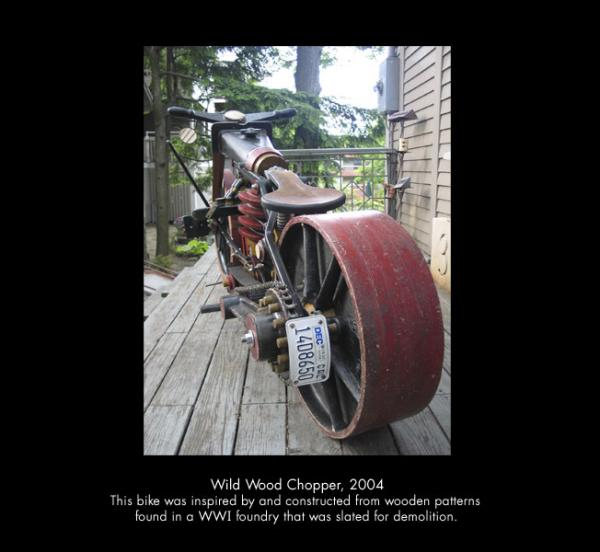 Michael Ulman - арт на колесах. (Дизельпанк) (Фото 8)