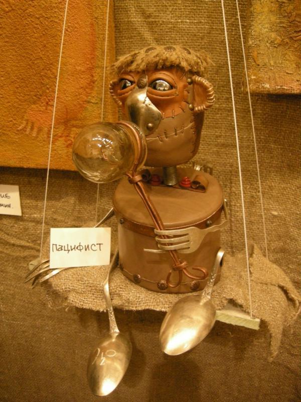 Выставка Авторской Куклы в залах Союза Художников (Петербург) (Фото 8)