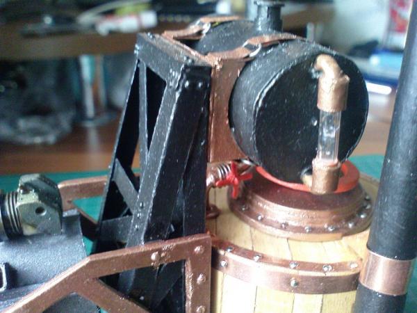 Имперский автономный ударно-разведывательный паровой дрон (Фото 15)