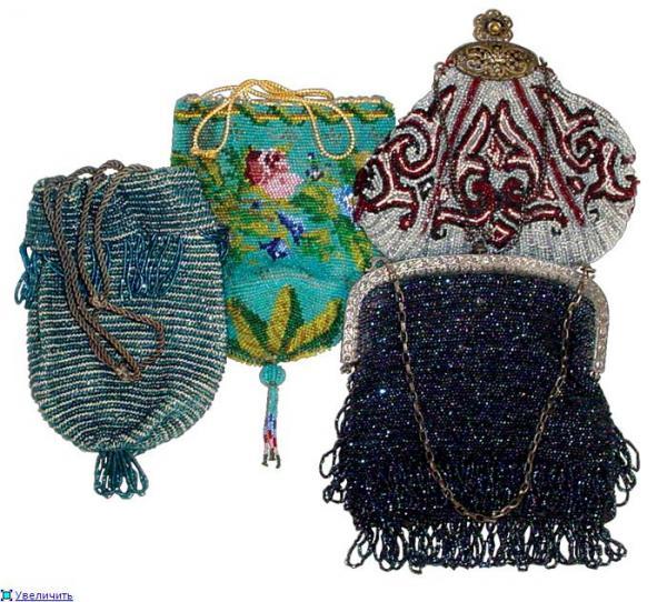 Дамские сумочки в Викторианскую эпоху (Фото 27)