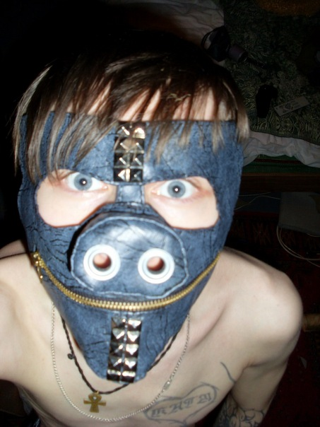 Мои маски и ещё пара творений) (Фото 4)