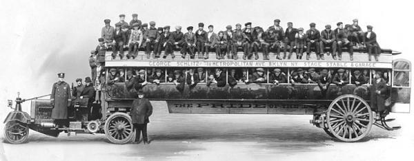 фото Нью-Йорка начала 20го века (Фото 24)